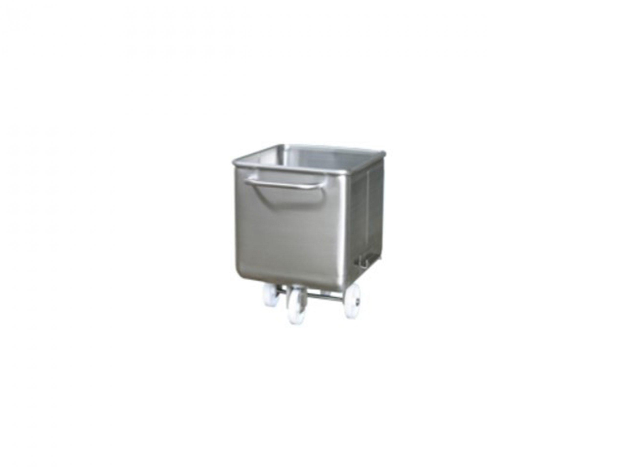 RVS containers en bakken